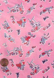 Authentic vintage novelty fabric yardage from rickrack.com