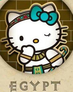 Hello Egypt Kitty