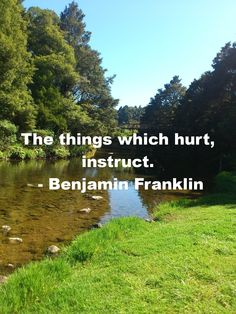 Learn from things that hurt http://www.moneymentalist.com/