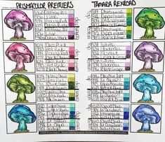 Coloring Tips, Doodle Coloring, Colouring Pages, Adult Coloring Pages, Coloring Books, Copics, Prismacolor, Mushroom Drawing, Enchanted Forest Coloring Book