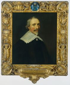 Jacob Cats (1577-1660). Rijksmuseum, Amsterdam. Cats was an emblematist. See Daniel Russell in Emblematica 17 for a brief discussion of this portrait.