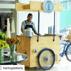 De São Paulo SP essa é a foodbike da @bartogelateria #foodbikebrasil #foodbike #galato #hailux_bikesfeitasamao