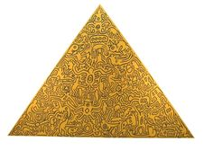 Recent Acquisitions - Pyramids By Keith Haring   Gregg Shienbaum Fine Art