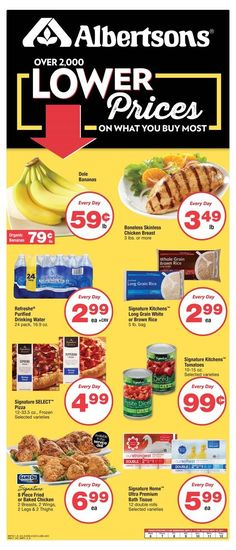 Albertsons Weekly Ad September 6 - 12 United States #grocery savings #Albertsons circular. Over 2000 lower prices on what you buy most.