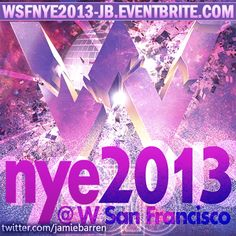 New Years Eve 2013 at W San Francisco (181 Third Street, San Francisco, CA 94103)  Featuring: The Trent Cantrelle Experience http://www.trentcantrelle.com     GET TICKETS AT HUGE DISCOUNT ONLINE TODAY ASAP AT http://wsfnye2013-jb.eventbrite.com  For more info, contact Jamie Barren (310) 749-9029. Follow Us for VIP offers, events and more at http://twitter.com/jamiebarren