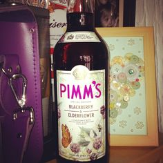Pimms ohhhh blackberry and elderberry