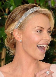 cabelo preso noiva tiara