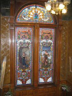 cooper king mansion doors.. Butte, Montana