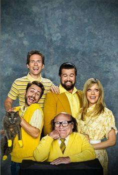 Always Sunny In Philadelphia...Pic made me laugh so hard. Kitten Mittens!