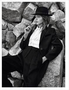 Саша Пивоварова в Vogue Paris (Интернет-журнал ETODAY)