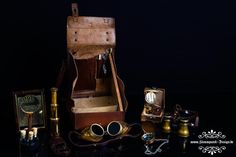 Steampunk Expedition Set by Admiral Aaron Ravensdale from Steampunk Design. Picture by Thomas Clemens Photography.