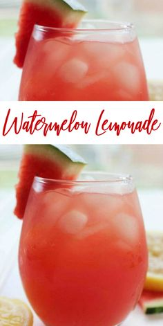 An easy Summer Drink Recipe with Watermelon! This is one of our favorite Summertime Drink Recipes and we LOVE anything Watermelon! If you are looking for a party Punch or Kid-friendly Barbecue Drink Recipe, try this one! Watermelon Lemonade, Watermelon Punch, Watermelon Recipes, Pink Lemonade, Watermelon Summer Drinks, Summertime Drinks, Refreshing Summer Drinks, Virgin Summer Drinks, Drink Recipes Nonalcoholic