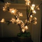"""Lighted Cherry Blossom Branches. Sold at Randolph Retail Company - Randolph, NY - """"Uptown merchandise at small town prices"""". http://www.randolphretail.com"""