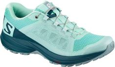 Salomon Women's XA Elevate Trail-Running Shoes Beachgrass/Reflecting Pond 10.5 #trailrunningshoes