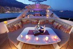 This unique yacht luxury is a quite inspirational and outstanding idea