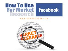 How to Use #Facebook for #MarketResearch