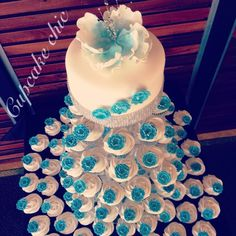 ice blue carnations Blue Carnations, Cupcake Towers, Desserts, Ice, Cakes, Deserts, Dessert, Ice Cream, Pastries