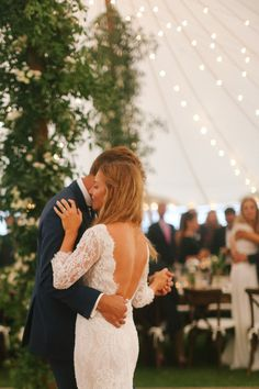 Whitney Weeks and Doug Pickett's Wedding:     Sharing our first dance to Otis Redding. I am painfully shy in front of groups, so this was actually the part I enjoyed planning the least! I loved dancing with my husband, though—he's much better than I am! Photo: Lucy Cuneo