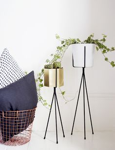 Another inspiring title there. I wanted to share with you my latest home buys, these adorable Ferm Living plant stands! I have been lusting after these cuties for months and months, and when I fina...
