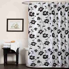 13 Best Black And White Shower Curtain Images Shower Curtains