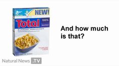 General Mills Total Mind Games - comedy skit about Total Blueberry Pomegranate Cereal
