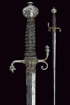 A composite sword:    provenance: France dating: circa 1600