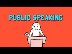 Be a More Confident Public Speaker. Watch this very useful video on overcoming #Glossophobia.