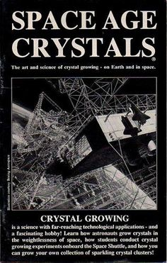 NASA Book on how to grow your own Crystals