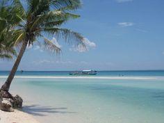 Beach on Cebu Island, Cebu, Philippines.