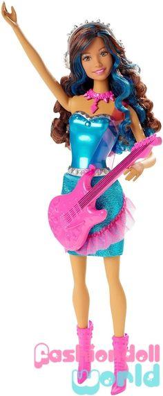 Ken Doll Barbie Fashionistas Style Rockn Royals 2015