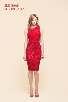 7dad148074 little red dress - Google Search Elie Saab Couture