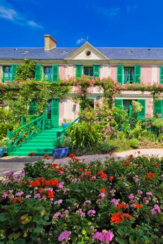 Claude Monet House, Stuff To Do, Things To Do, Day Trip From Paris, Day Trips, France, Mansions, House Styles, Home Decor