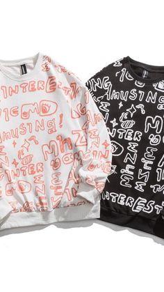 Crew Neck Sweatshirt, Graphic Sweatshirt, Pullover, Unisex, Sweatshirts, Sweaters, How To Wear, Clothes, Fashion