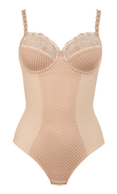 Lacy & Sexy - Josephine bodysuit available up to a F cup. Check up more here : http://www.anita.com/shop/en_global/products/bra.html?collection_group=Rosa+Faia&limit=100