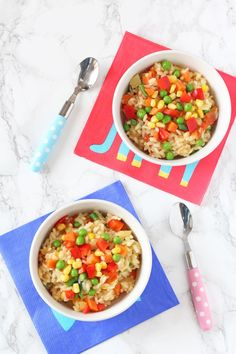 A delicious creamy vegetable packed risotto that's gluten and dairy free! | Our Autism Diet