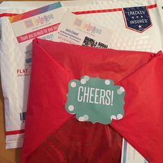 Beautiful packages going out today!