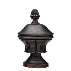 """3"""" Roman Finial. Bronze."""