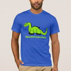 Personalized Dinosaur Adult T-Shirt for Men Dad - click/tap to personalize and buy