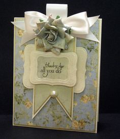 Crooked Card Creations - Thanks for All You Do
