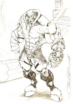 Minotaur by vandalocomics Creature Concept Art, Creature Design, Character Illustration, Illustration Art, Drawing Body Proportions, Hulk Art, Beast Creature, Environment Concept Art, Cool Sketches