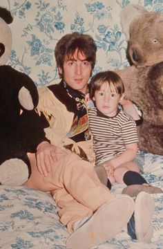 John and Julian Lennon.