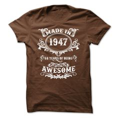 1947- 68 Years of being Awesome!