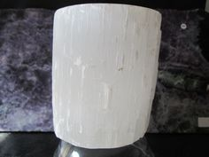 Selenite Candle Holder (SRC101) by Valugems on Etsy