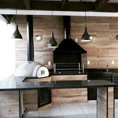 Modern Outdoor Kitchen, Outdoor Kitchen Plans, Outdoor Rooms, Outdoor Living, Patio Design, House Design, Home Entrance Decor, Home Decor, Home Upgrades