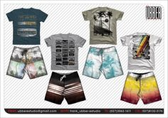 Criações #look #design #surfwear #tshirt #boardshort