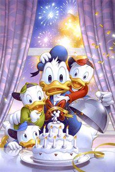 ✶ Donald's Birthday party❗️ ★