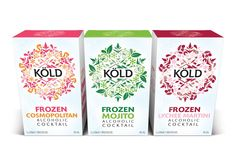 Köld Frozen Cocktails on Packaging of the World - Creative Package Design Gallery