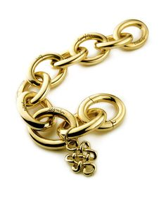 Diane von Furstenberg by H.Stern collection. Bracelet Sutra in 18K yellow gold by H.Stern.