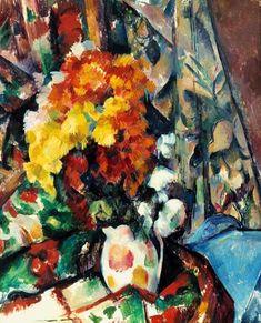 Paul Cézanne - Vase fleuri