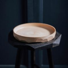 The PLANE Bowl is turned on the lathe in stunningly pale UK-grown Sycamore, the spun finish left tactile and visible to contrast the smooth crisp facets that cut through the circular form. Studio, Objects, Tableware, Plane, Gifts, Accessories, Lifestyle, Dinnerware, Presents